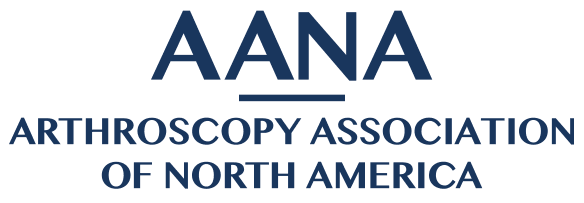 AANA arthroscopy association of north america logo